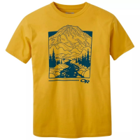 Outdoor Research Men's Rainier Short-Sleeve Tee - Size L