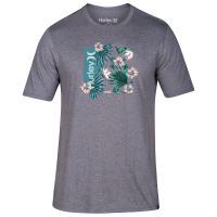Hurley Men's Short-Sleeve One & Only Floral Box Tee