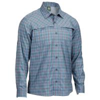 EMS Men's Journey Plaid Long-Sleeve Shirt - Size S