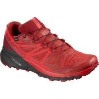 Salomon Men's Sense Ride Gtx Invisible Fit Waterproof Trail Running Shoes - Size 8.5