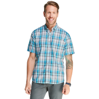 G.h. Bass Men's Bluewater Bay Plaid Short-Sleeve Shirt