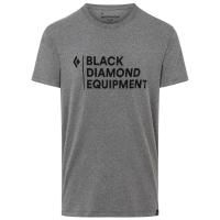 Black Diamond Men's Stacked Logo Short-Sleeve Tee - Size XL