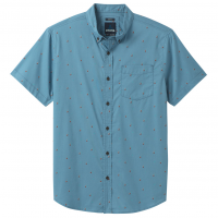 Prana Men's Broderick Short-Sleeve Slim Shirt - Size M