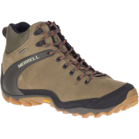 Merrell Men's Chameleon 8 Leather Mid Waterproof Hiking Shoes - Size 10