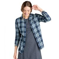 Toad & Co. Women's Indigo Skye Long-Sleeve Shirt - Size XL