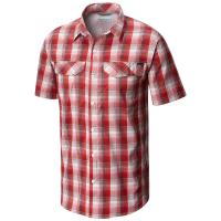Columbia Men's Silver Ridge Lite Plaid Short-Sleeve Shirt - Size M