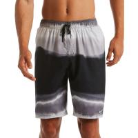 Nike Men's Optic Halo Horizon 9 in. Swim Shorts