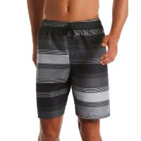 "Nike Men's Linen Stripe 9"" Volley Swim Shorts"