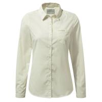 Craghoppers Women's Nosidefence Kiwi Long Sleeve Shirt - Size 8