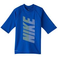 Nike Little Boys 4-7 Short-Sleeve Hydroguard Rash Guard Top