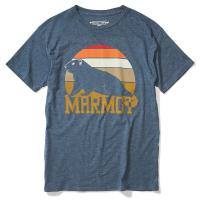 Marmot Men's Short-Sleeve Dawning Marmot Graphic Tee - Size M