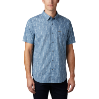 Columbia Men's Summer Chill Short-Sleeve Shirt - Size M
