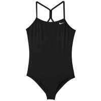 Nike Big Girls' Solid Racerback One-Piece Swimsuit