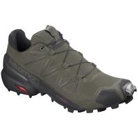 Salomon Men's Speedcross 5 Trail Running Shoe, Wide - Size 9