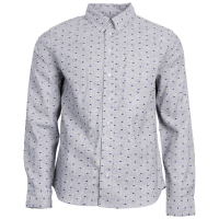United By Blue Men's Bison Print Button-Down Long-Sleeve Shirt - Size L