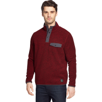 G.h. Bass & Co. Men's Arctic Fleece Snap Placket Pullover