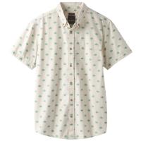 Prana Men's Broderick Woven Short-Sleeve Shirt - Size S