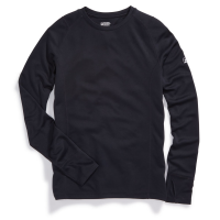 EMS Men's Techwick Midweight Long-Sleeve Crew Base Layer Top