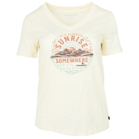 United By Blue Women's Sunrise Somewhere Graphic Tee - Size S