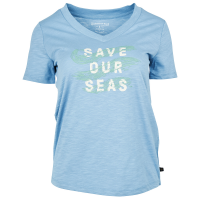 United By Blue Women's Save Our Seas Graphic Tee - Size S