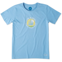Life Is Good Women's The Great Outdoor Crusher Tee - Size L