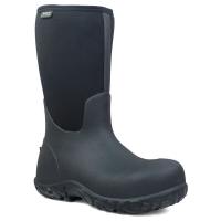 Bogs Men's 13 In. Workman Waterproof Composite Toe Work Boots, Black