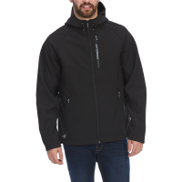 New Balance Men's Hooded Softshell Jacket With Reflective Trim