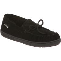 Bearpaw Women's Mindy Moccasin Slippers, Black - Size 9