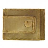 Carhartt Men's Oil Tan Front Pocket Wallet