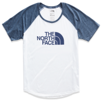 The North Face Women's Short-Sleeve Half Dome Tri-Blend Graphic Baseball Tee - Size XS