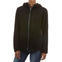 New Balance Women's Full Zip Hooded Fleece With Embossed Logo