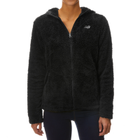New Balance Women's Full Zip Sherpa Hooded Jacket