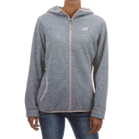 New Balance Women's Full Zip Polar Fleece Spacedye Hoodie