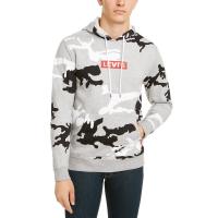 Levi's Men's Camouflage Fleece Hoodie