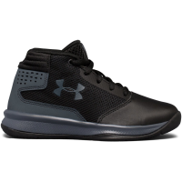 Under Armour Boys' Pre-School Ua Jet 2017 Basketball Shoes, Black/rhino Grey
