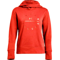 Under Armour Women's Ua Rival Fleece Tonal Graphic Pullover Hoodie
