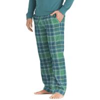 Life Is Good Men's Holiday Plaid Sleep Pants