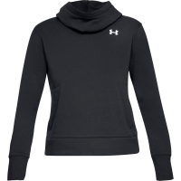 Under Armour Women's Ua Cotton Fleece Logo Pullover Hoodie