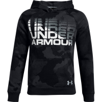 Under Armour Big Boys' Ua Rival Wordmark Pullover Hoodie