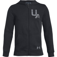 Under Armour Big Boys' Ua Rival Logo Full-Zip Hoodie