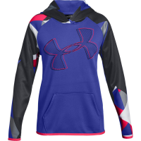 Under Armour Big Girls' Armour Fleece Printed Logo Pullover Hoodie