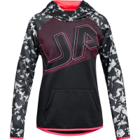 Under Armour Big Girls' Armour Fleece Big Logo Pullover Hoodie