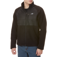 New Balence Men's Dobby Overlay Fleece