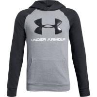 Under Armour Big Boys' Ua Rival Logo Pullover Hoodie