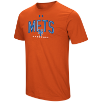 New York Mets Men's Ua Performance Arch Tee