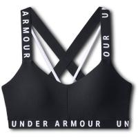 Under Armour Women's Ua Wordmark Strappy Sportlette Sports Bra