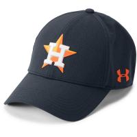 Under Armour Men's Houston Astros Driver 2.0 Adjustable Cap