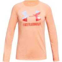 Under Armour Big Girls' Ua Big Logo Long-Sleeve Tee
