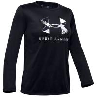 Under Armour Girls' Ua Tech Big Logo Long-Sleeve Tee