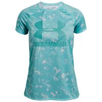 Under Armour Girls' Big Logo Short-Sleeve Tee